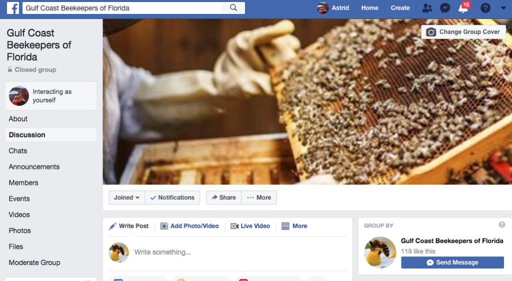 Gulf Coast Beekeepers Assoc Member Benefits | Private Facebook Group